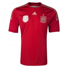 پیراهن اول تیم ملی اسپانیا Spain 2014 Home Soccer Jersey