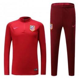 ست گرمکن شلوار اتلتیکو مادرید قرمز Nike Atletico Madrid 2016-17 Tracksuits Red