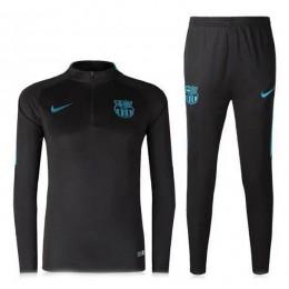 ست گرمکن شلوار بارسلونا مشکی Nike Barcelona 2016-17 Tracksuits Black