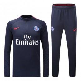 ست گرمکن شلوار پاریسن ژرمن سرمه ای Nike Paris Saint Germain 2016-17 Tracksuits Navy blue