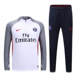ست گرمکن شلوار پاریسن ژرمن سفید Nike Paris Saint Germain 2016-17 Tracksuits