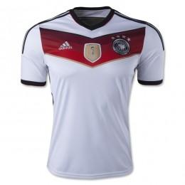 پیراهن اول تیم ملی آلمان (4 ستاره) (Germany 2014 Home Soccer Jersey (4 Star