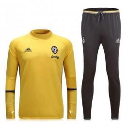 ست گرمکن شلوار یوونتوس زرد Adidas Juventus 2016-17 Tracksuits