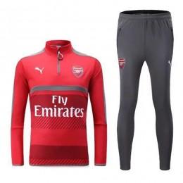 ست گرمکن و شلوار آرسنال قرمز Puma Arsenal 2016-17 Training Suit