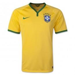 پیراهن اول تیم ملی برزیل Brazil 2014 Home Soccer Jersey