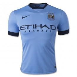 پیراهن اول منچستر سیتی Manchester City 2014-15 Home Soccer Jersey