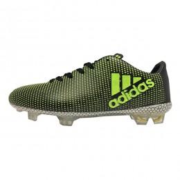 کفش فوتبال بچه گانه آدیداس ایکس طرح اصلی مشکی سبز Adidas X