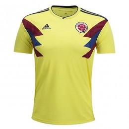 پیراهن اول تیم ملی کلمبیا ویژه جام جهانی Colombia 2018 World Cup Home Soccer Jersey