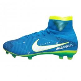 کفش فوتبال نایک مرکوریال نیمار طرح اصلی آبی Nike Mercurial Neymarr