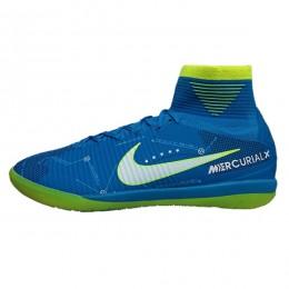 کفش فوتسال نایک مرکوریال نیمار طرح اصلی آبی Nike Mercurial Neymar Jr