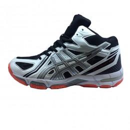 کفش والیبال مردانه اسیکس ژل طرح اصلی سفید مشکی Asics Gel
