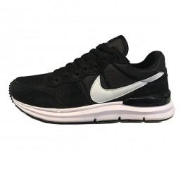 کتانی رانینگ مردانه نایک لونار طرح اصلی مشکی سفید Nike Lunarlon