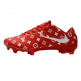 کفش فوتبال نایک مرکوریال طرح اصلی قرمز سفید Nike Mercurial