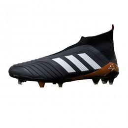 کفش فوتبال آدیداس پردیتور طرح اصلی مشکی سفید Adidas Predator