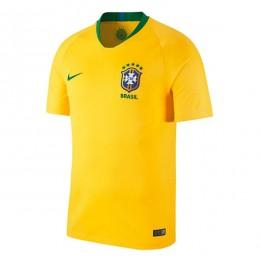 پیراهن اول تیم ملی برزیل ویژه جام جهانی Brazil 2018 World Cup Home Soccer Jersey