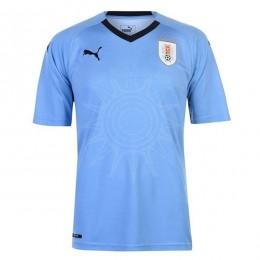پیراهن اول تیم ملی اروگوئه ویژه جام جهانی Urgua 2018 World Cup Home Soccer Jersey