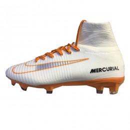 کفش فوتبال نایک مرکوریال طرح اصلی سفید Nike Mercurial