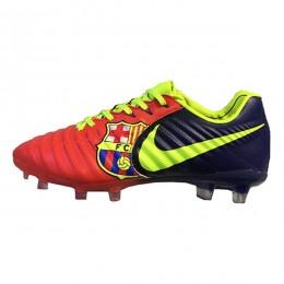 کفش فوتبال نایک تمپو قرمز ابی Nike Tiempo