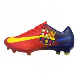 کفش فوتبال نایک مرکوریال طرح اصلی آبی قرمز Nike Mercurial