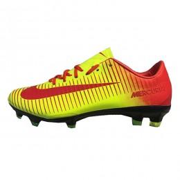 کفش فوتبال نایک مرکوریال طرح اصلی زرد قرمز Nike Mercurial