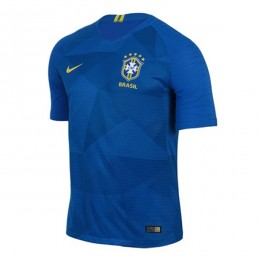 پیراهن دوم تیم ملی برزیل ویژه جام جهانی Brazil 2018 World Cup Away Soccer Jersey