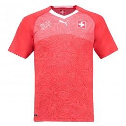 پیراهن اول تیم ملی سوئیس ویژه جام جهانی Switzerland 2018 World Cup Home Soccer Jersey