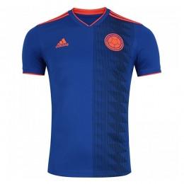 پیراهن دوم تیم ملی کلمبیا ویژه جام جهانی Colombia 2018 World Cup Away Soccer Jersey