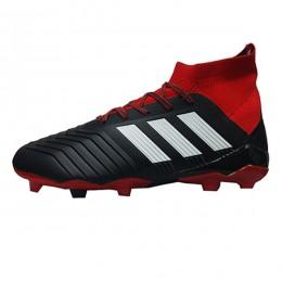 کفش فوتبال آدیداس پردیتور طرح اصلی مشکی قرمز Adidas Predator
