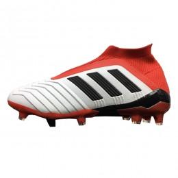کفش فوتبال بچگانه آدیداس پردیتور طرح اصلی سفید قرمز Adidas Predator