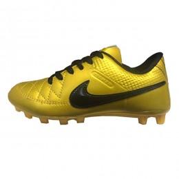 کفش فوتبال بچه گانه نایک تمپو طرح اصلی زرد مشکی Nike Tiempo