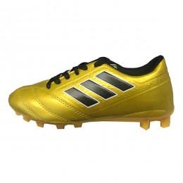 کفش فوتبال بچه گانه آدیداس طرح اصلی زرد مشکی Adidas