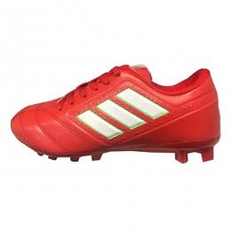 کفش فوتبال بچه گانه آدیداس طرح اصلی قرمز سفید Adidas