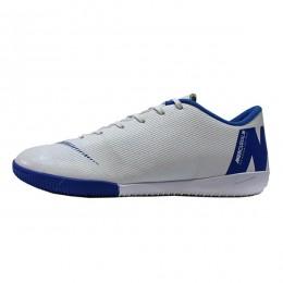 کفش فوتسال نایک مرکوریال طرح اصلی سفید آبی Nike Mercurial