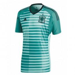 پیراهن دروازه بانی تیم ملی اسپانیا Spain 2018 Home Goalkeeper Soccer Jersey