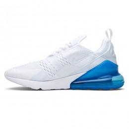 کتانی رانینگ مردانه نایک ایرمکس Nike Air Max 270 White Blue
