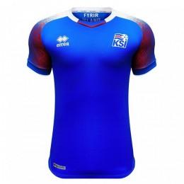 پیراهن اول تیم ملی ایسلند Iceland 2018 Home Soccer Jersey