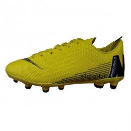 کفش فوتبال بچه گانه نایک مرکوریال ایکس طرح اصلی زرد مشکی Nike Mercurial X