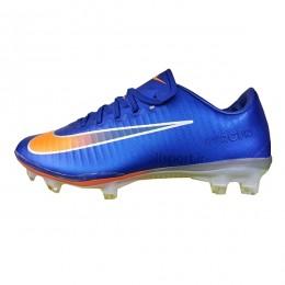 کفش فوتبال بچه گانه نایک مرکوریال طرح اصلی آبی Nike Mercurial