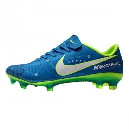 کفش فوتبال بچه گانه نایک مرکوریال طرح اصلی آبی Nike Mercurial Neymar