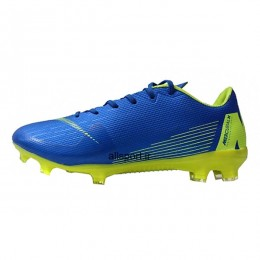 کفش فوتبال نایک مرکوریال طرح اصلی آبی زرد Nike Mercurial