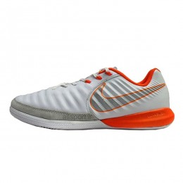 کفش فوتسال نایک تمپو طرح اصلی طوسی Nike Tiempo