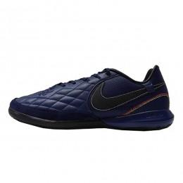 کفش فوتسال نایک تمپو طرح اصلی سرمه ای Nike Tiempo