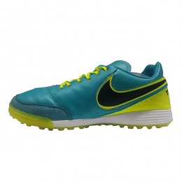 کفش فوتبال نایک تمپو طرح اصلی سبز زرد Nike Tiempo