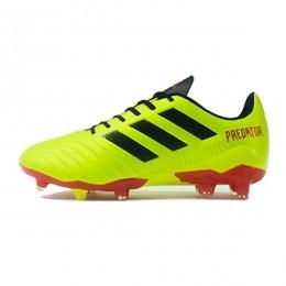 کفش فوتبال آدیداس پردیتور طرح اصلی زرد قرمز Adidas Predator 2018