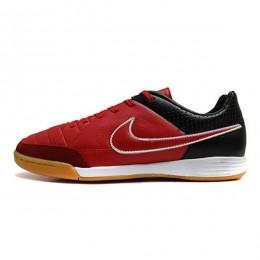 کفش فوتسال نایک تمپو طرح اصلی مشکی قرمز Nike Tiempo