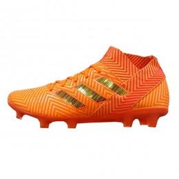 کفش فوتبال آدیداس نمزیز طرح اصلی نارنجی Adidas Nemeziz 2018
