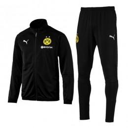 ست گرمکن شلوار دورتموند Bvb Borussia Dortmund Puma Training Tracksuit 2018