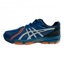 کفش والیبال مردانه اسیکس ژل طرح اصلی آبی Asics Gel