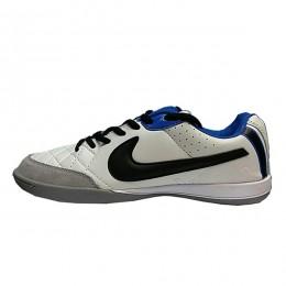 کفش فوتسال نایک تمپو طرح اصلی سفید Nike Tiempo