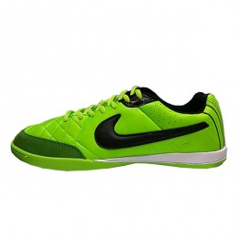 کفش فوتسال نایک تمپو طرح اصلی سبز Nike Tiempo